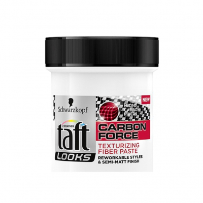 Taft Looks Carbon Force pasta na vlasy, 130 ml