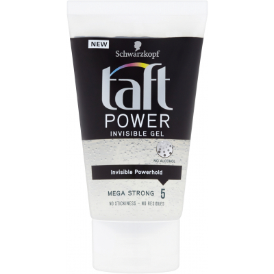 Taft Power Invisible Gel gel na vlasy, 150 ml