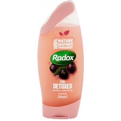 Radox Feel Detoxed sprchový gel 250 ml