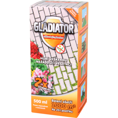 Gladiator Herbicid na plevel, 1000 m², 500 ml