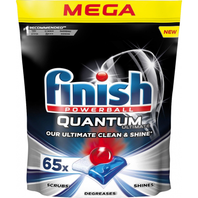 Finish Quantum Ultimate tablety do myčky, 65 ks