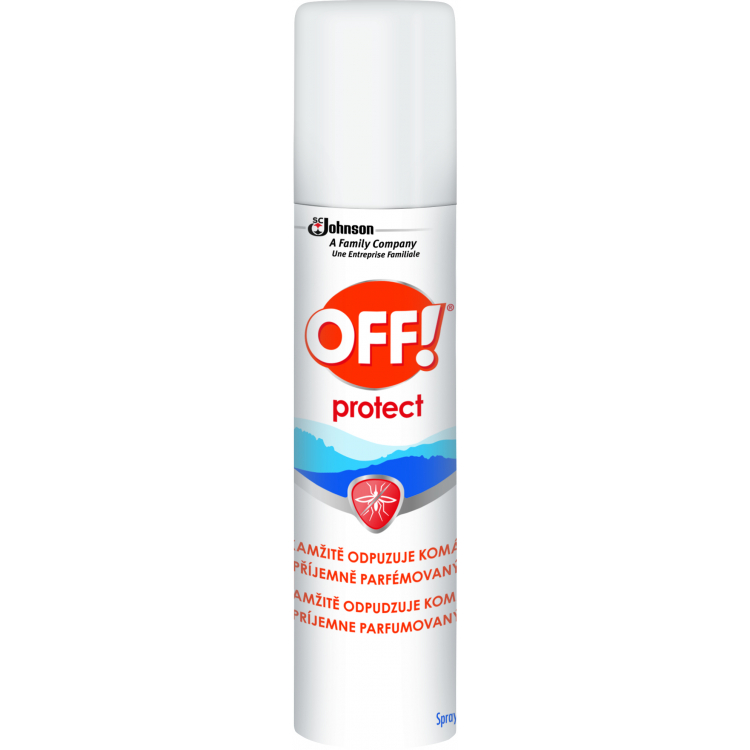 OFF! Protect sprej repelent odpuzovač hmyzu, 100 ml