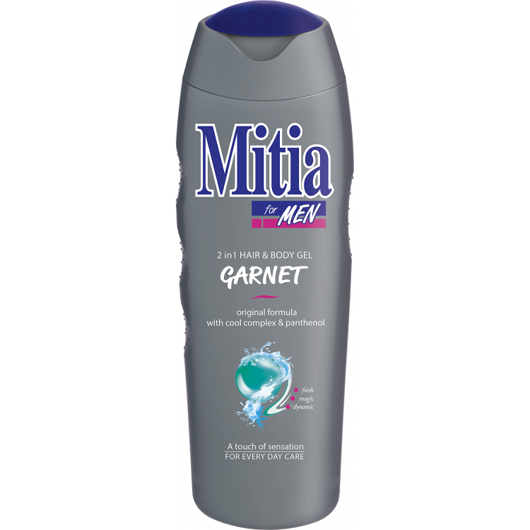 Mitia for Men Garnet sprchový gel, 400 ml