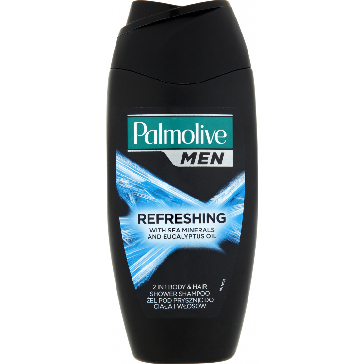 Palmolive Men Refreshing 2v1 sprchový gel a šampon, 250 ml