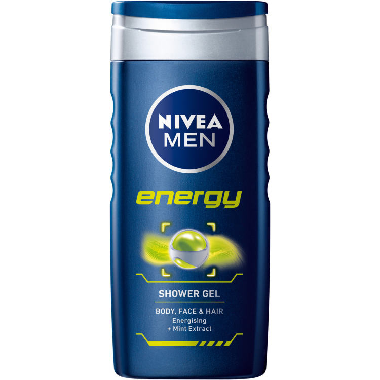 Nivea Men Energy sprchový gel, 250 ml